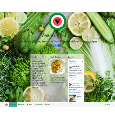 site de recettes vegan